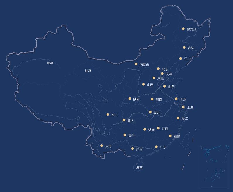 网点营业地图